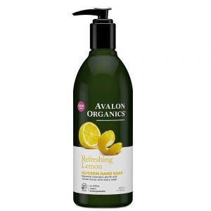 Avalon Orgânicos Limão Glicerina Sabonete de limão 12 fl oz   Comprar Suplemento em Promoção Site Barato e Bom
