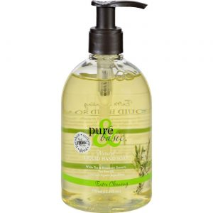 Pure and Basic Sabonete líquido - limpeza extra 12,5 oz   Comprar Suplemento em Promoção Site Barato e Bom