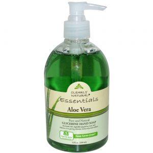 Clearly Natural Aloe Vera puro e natural Glicerina Sabão 12 fl oz   Comprar Suplemento em Promoção Site Barato e Bom