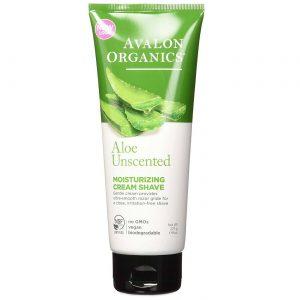 Avalon Orgânicos Aloe Unscented Creme Hidratante Shave Unscented 8 oz   Comprar Suplemento em Promoção Site Barato e Bom
