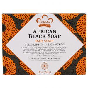 Nubian Heritage Africano Preto Soap 5 oz   Comprar Suplemento em Promoção Site Barato e Bom