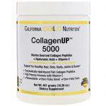 California Gold Nutrition, CollagenUP™ 5000, Peptídeos de Colágeno Marinho + Ácido Hialurônico e Vitamina C, 16,26 oz (461 g)   Comprar Suplemento em Promoção Site Barato e Bom