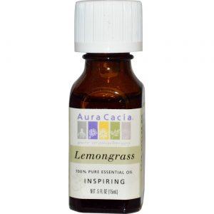 Aura Cacia Limãograss Limão 0,5 OZ   Comprar Suplemento em Promoção Site Barato e Bom
