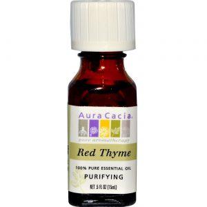 Aura Cacia Red Thyme 0,5 OZ   Comprar Suplemento em Promoção Site Barato e Bom