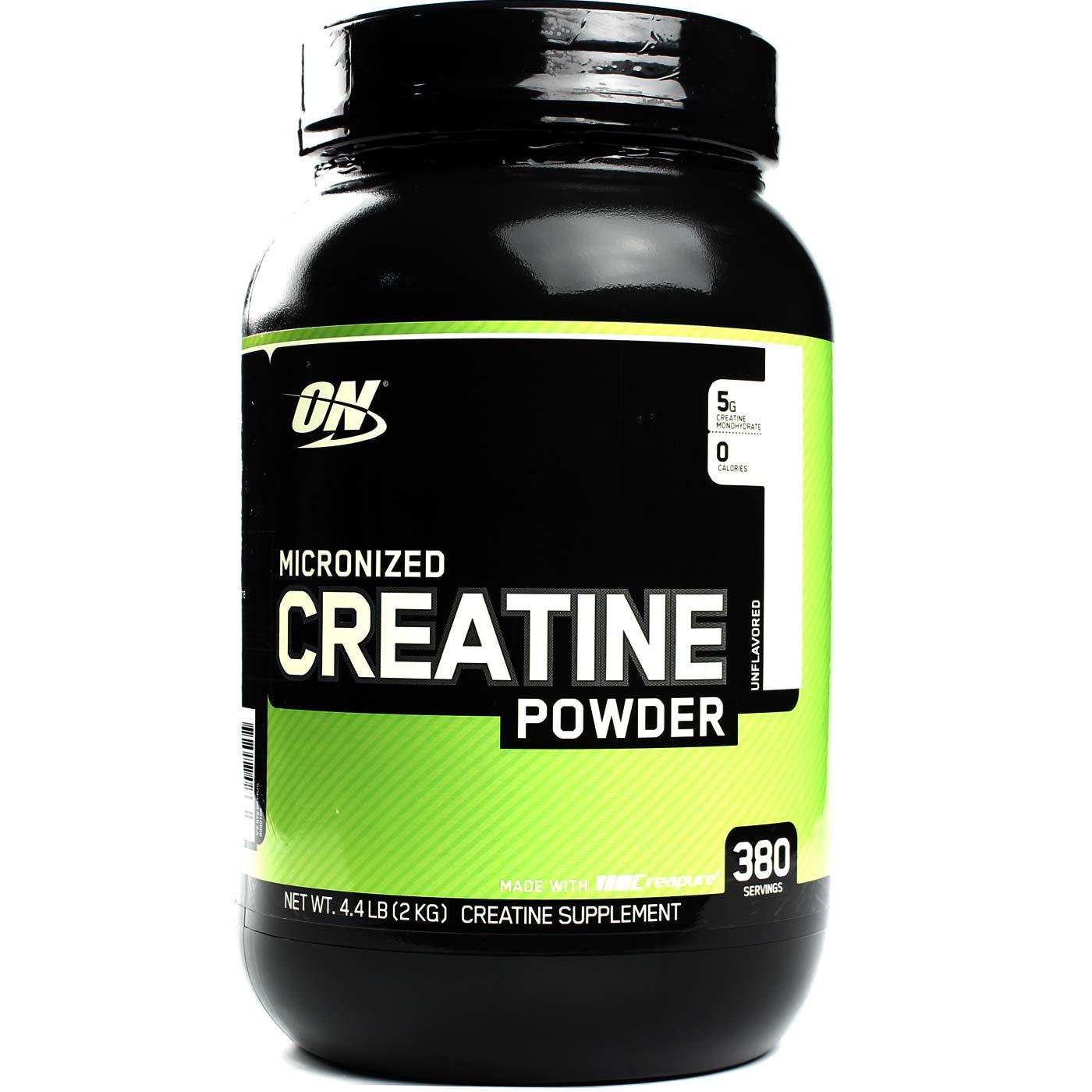 c6e67357d Creatina em Pó (Micronizada) Sem Sabor Optimum Nutrition 4.4 lbs  2 kg 380