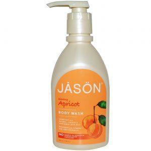 Jason Natural Cosmetics Apricot Sabonete Liquido Body 30 OZ   Comprar Suplemento em Promoção Site Barato e Bom