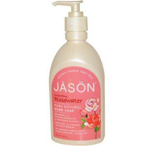 Jason Natural Cosmetics Glicerina / água de rosas Soap 16 OZ   Comprar Suplemento em Promoção Site Barato e Bom