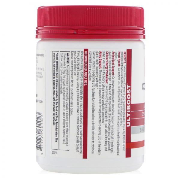 Swisse, Co-Enzyme Q10, 150 mg, 180 Capsules   Comprar Suplemento em Promoção Site Barato e Bom