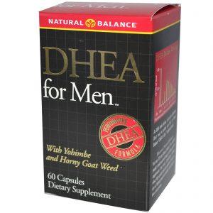Natural Balance, DHEA para Homens, 60 Cápsulas   Comprar Suplemento em Promoção Site Barato e Bom