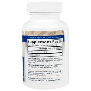 NutraLife, Melatonina, 5 mg, 90 Comprimidos Mastigáveis   Comprar Suplemento em Promoção Site Barato e Bom