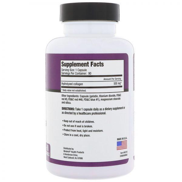Rejuvicare, Super Colágeno, Colágeno hidrolisado, 500 mg, 90 cápsulas   Comprar Suplemento em Promoção Site Barato e Bom