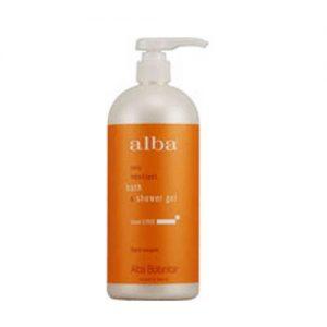 Alba Botanica Ilha Citrus Bath & Shower Gel 32 onças   Comprar Suplemento em Promoção Site Barato e Bom