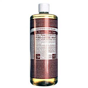Dr Bronner Eucalyptus Pure Castela sabão Eucalpytus 32 fl oz   Comprar Suplemento em Promoção Site Barato e Bom
