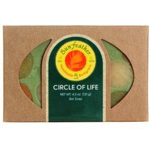 Sunfeather Circle of Life Sabão 4,3 onças   Comprar Suplemento em Promoção Site Barato e Bom