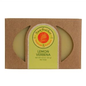 Sunfeather Limão Verbena Sabonete 4,3 onças   Comprar Suplemento em Promoção Site Barato e Bom