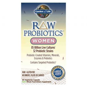 Garden of Life RAW Probióticos Mulheres 90 Cápsulas Vegetarianas   Comprar Suplemento em Promoção Site Barato e Bom