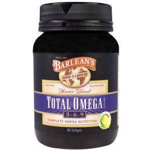 Barlean's Orgânico Oils Total Omega 3-6-9 Limãoade 90 Cápsulas   Comprar Suplemento em Promoção Site Barato e Bom