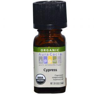 Aura Cacia Ess Oil OG2 Cypress 0,25 onças   Comprar Suplemento em Promoção Site Barato e Bom