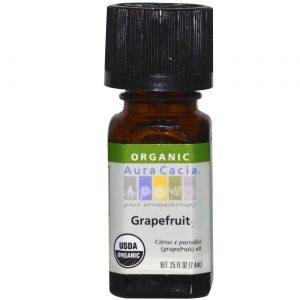 Aura Cacia Ess Oil OG2 Grapefruit 0,25 onças   Comprar Suplemento em Promoção Site Barato e Bom