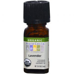 Aura Cacia Ess Oil OG2 Lavender 0,25 onças   Comprar Suplemento em Promoção Site Barato e Bom