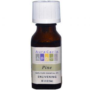 Aura Cacia Óleo Essencial Pine 0,5 onças   Comprar Suplemento em Promoção Site Barato e Bom