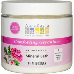 Aura Cacia Mineral Bath Heartsong 16 onças   Comprar Suplemento em Promoção Site Barato e Bom