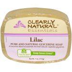 Clearly Natural Sabonete Lilás 4 onças   Comprar Suplemento em Promoção Site Barato e Bom