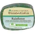 Clearly Natural Sabão Rainforest 4 onças   Comprar Suplemento em Promoção Site Barato e Bom