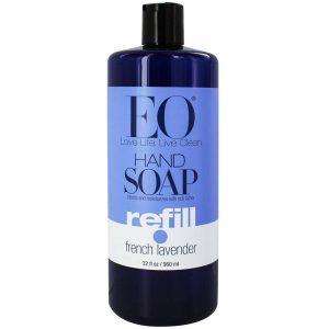 Eo Products Hand Soap Refill Pe. Lvndr 32 onças   Comprar Suplemento em Promoção Site Barato e Bom