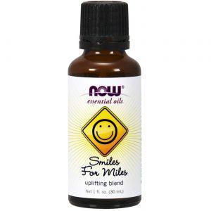 Now Foods Smiles For Miles Oil Blend - 1 fl oz   Comprar Suplemento em Promoção Site Barato e Bom