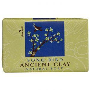 Zion Health Clay Soap, Song Bird - 6 oz   Comprar Suplemento em Promoção Site Barato e Bom