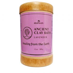 Zion Health Ancient Clay Bath, Lavanda - 12 oz   Comprar Suplemento em Promoção Site Barato e Bom
