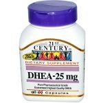 21st Century DHEA - 25 mg - 90 Cápsulas   Comprar Suplemento em Promoção Site Barato e Bom