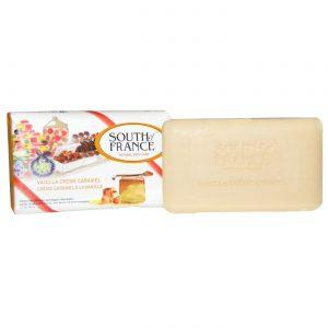 South Of France French Milled Soap, Caramelo de creme de baunilha - 3.5 oz   Comprar Suplemento em Promoção Site Barato e Bom