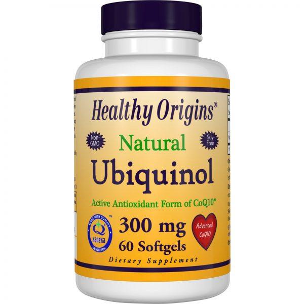 Healthy Origins, Ubiquinol (Kaneka Q+), 300 mg, 60 Cápsulas Gelatinosas   Comprar Suplemento em Promoção Site Barato e Bom