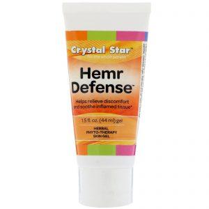 Crystal Star, Gel Hemr Defense, 44 ml (1,5 fl oz)   Comprar Suplemento em Promoção Site Barato e Bom