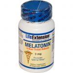 Life Extension, Melatonina, 6 horas liberação programada, 3 mg, 60 comprimidos vegetarianos   Comprar Suplemento em Promoção Site Barato e Bom