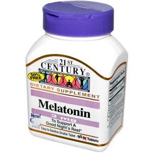 21st Century, Melatonina, 3 mg, 90 comprimidos   Comprar Suplemento em Promoção Site Barato e Bom