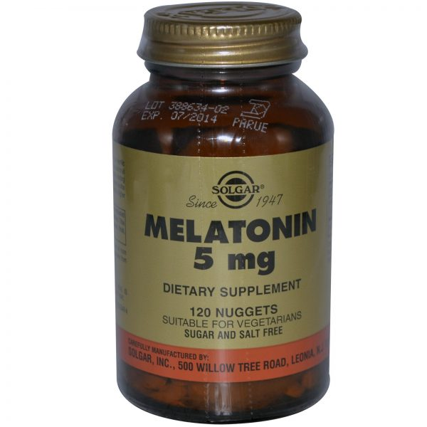 Solgar, Melatonina, 5 mg, 120 Unidades   Comprar Suplemento em Promoção Site Barato e Bom