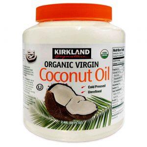 Kirkland Signature Óleo de coco virgem orgânico, 84 fl oz/2.48 L   Comprar Suplemento em Promoção Site Barato e Bom