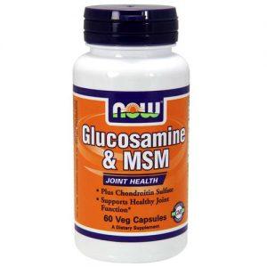 Now Foods Glucosamina e MSM 60 Cápsulas   Comprar Suplemento em Promoção Site Barato e Bom