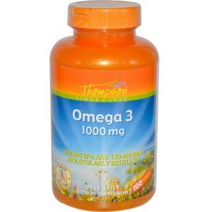 Thompson Omega-3 1000 mg 100 Cápsulas   Comprar Suplemento em Promoção Site Barato e Bom