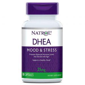 Natrol DHEA 25 mg 90 Tabletes   Comprar Suplemento em Promoção Site Barato e Bom