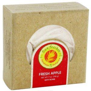 Sunfeather Bombas de banho fresca de Apple 7 oz   Comprar Suplemento em Promoção Site Barato e Bom