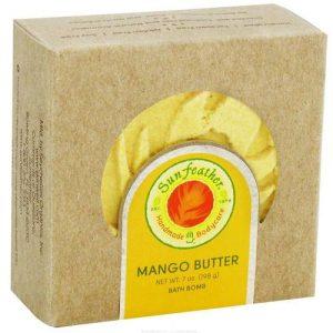 Sunfeather Bombas de Banho Mango Butter 7 oz   Comprar Suplemento em Promoção Site Barato e Bom