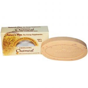 Nature's Plus Oatmeal Cleansing Bar 3,5 onças   Comprar Suplemento em Promoção Site Barato e Bom