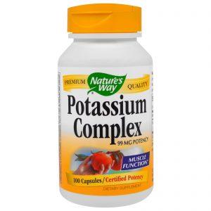 Nature's Way, Potassium Chelate, 99 mg, 100 Capsules   Comprar Suplemento em Promoção Site Barato e Bom