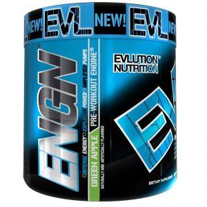 EVLution Nutrition, Pré-Treino ENGN, Maçã Verde, 240 g   Comprar Suplemento em Promoção Site Barato e Bom