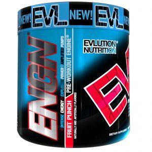 EVLution Nutrition, Pré-Treino ENGN, Frutas, 258 g   Comprar Suplemento em Promoção Site Barato e Bom