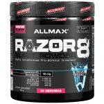 ALLMAX Nutrition, Razor 8, Pre-Workout Energy Drink with Yohimbine, Blue Rocket, 10.05 oz (285 g)   Comprar Suplemento em Promoção Site Barato e Bom